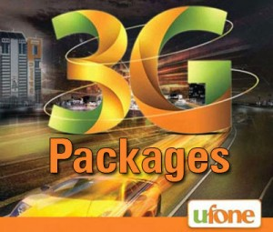 Ufone 3g Internet Packages